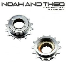 "N&T 14T 34mm 1/2"" x 1/8"" Silver BMX Freewheel Bicycle Single Speed Cog Sprocket"