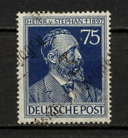 (YYAX 257) Germany 1948 Occupation Soviet Russian Zone Local overprint Mich IIIb