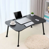 Large Folding Laptop Table Tray Desk Portable Lazy Bed Sofa Computer Lap Stand