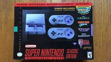 Brand New Super Nintendo Entertainment System: Super NES Classic Edition