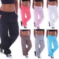 Femmes Stretchy Wide Leg Pants Loupe Pantalons Mode Loose Linen Pantalons 04