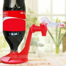 Drinking Bottle Dispenser Sifon Soda Coke Tap Stream Drink Spill Squeeze Plastic