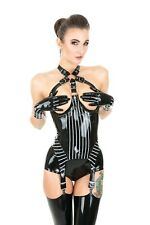 BONDAGE Topless CORSET Rubber Latex **Shown** NEW 2018 Collection shoot 6-8 UK
