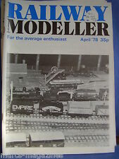 RAILWAY MODELLER APRIL 1978 CHEPSTOW CARDIFF HECKMONDWIKE YORK SALISBURY WORGRET