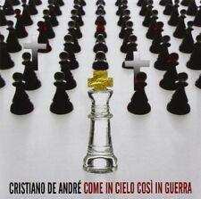 CRISTIANO DE ANDR' - COME IN CIELO COSI' IN GUERRA [SPECIAL EDITION] * NEW CD