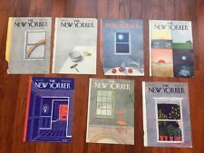 LOT (7) NEW YORKER MAGAZINE Covers~Pierre Le Tan art~Vintage~$95 EACH @ art.com!