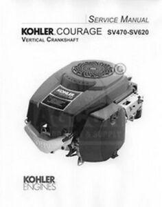 Kohler Courage SV590 SV600 SV610 SV620 Service Manual