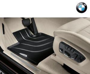 Original BMW X3 X4 Allwetter Fussmatten vorne F25 F26 Gummi-Matten 51472458442
