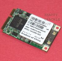 HP Compaq 6510b 6515b 2210b 2510p 6520s 2710p 6720s 6820s 6910p Wireless Card
