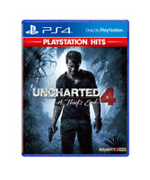 Uncharted 4 A Thief's End PlayStation PS4 2018 English Chinese Factory Sealed