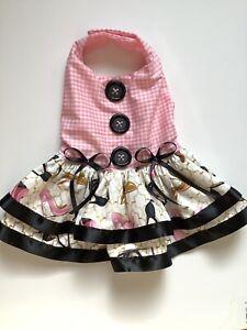 Summer Doggie Dress Handmade Size Small