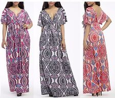 Plus size Beach Dress,Evening dress,Maternity Maxi,Party,women Floral, 012
