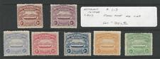 Solomon Islands, Postage Stamp, #1-7 Mint Hinged, 1907, JFZ