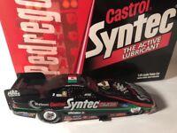 Tony Pedregon Castrol 1998 Mexico Flag Car Nhra Funny Car Action 1/24 Diecast