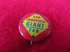 Vintage 1965 San Francisco Giants Baseball Pin Guys Potato Chips Collector 7951