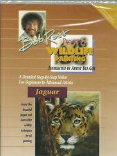 BOB ROSS - VIE SAUVAGE PAINTING - PROJET JAGUAR Peinture animalière DVD neuf