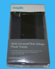 Maplin 90W Universal AutoVoltage Power Supply WITH 12Tips for Laptops-RRP=£49.99