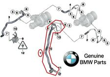 BMW X5 F15 X6 F16 Turbocharger Coolant Hose Cylinders 1-4 Feed Passenger Right