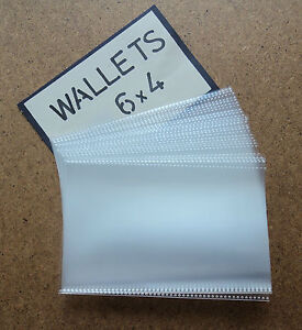 Postcard Wallets  6x4 (30pcs)