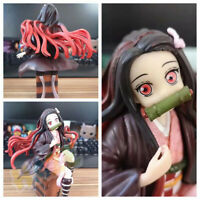 Anime Demon Slayer: Kimetsu no Yaiba Kamado Nezuko Action Figure Toy 17cm Statue