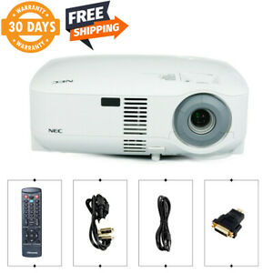 Refurbished NEC VT695 3LCD Projector 2500 ANSI HDMI-adapter w/Remote