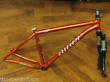 "NINER ONE EASTON GX2 SCANDIUM LARGE 29ER MTB FRAME SET 18.5"" ROCK SHOX REBA FORK"