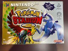Pokemon Stadium 2 Mint collectors condition Nintendo 64 N64 game Boxed rare PAL