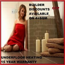 NEW Floor Heating Kits 2 sqm Electric Underfloor Under Tile Undertile Heat Mats