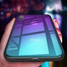 Tempered GLASS BACK Case For iPhone 11 PRO MAX XS X XR 8 7 PLUS Shockproof Cover