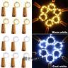 20 LED Wine Bottle Cork Shape Lights Night Fairy String Light Lamp Xmas Party
