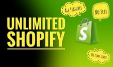 Shopify Account With Unlimited Trial Days + 50 premium themes ($1400 value)