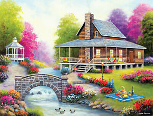 SPRING HARMONY by JOHN ZACCHEO - SunsOut 500 piece puzzle  - NEW