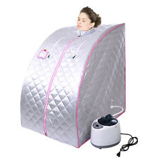 Portable Therapeutic Folding SPA Home Steam Sauna Detox Heat Therapy Weight loss