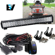 "20"" COMBO LED Light Bar +Wire Kit Off-road Driving Lamp FOR SUV Boat  Truck 20"