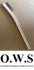 1 X Stainless Steel Wire Brush For Aluminium Welding Low Temp Durafix Easyweld