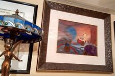 More details for disney tinker bell original framed cel chaos in the dresser drawer