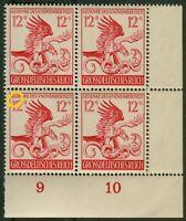 Deutsches Reich DR Nr. 906 I postfrisch Plattenfehler Michel 90 € ERVB VB MNH