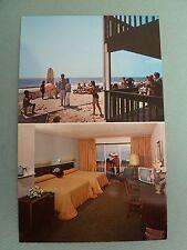 MONTAUK LONG ISLAND NEW YORK Postcard Ocean Beach Motel Room On The Shore
