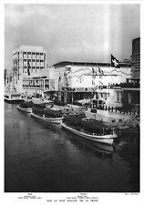 *** Sur la rive gauche de la Seine *** 1937 - photo (24,5 x 35) // p557