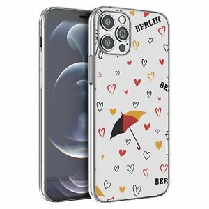 For iPhone 12 & 12 Pro Silicone Case Germany Berlin Pattern - S6144