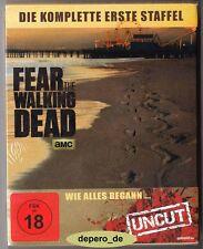 """""""FEAR THE WALKING DEAD - Season 1"""" - Zombie Horror TV Series - BLU RAY STEELBOOK"""
