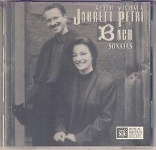 J.S. Bach - Michala Petri, Keith Jarrett: Sonatas BWV 1030 - 1035 (MHS) Like New