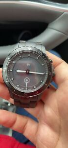 Fossil Men's Hybrid Smartwatch HR with Always-On Readout Display FTW7017