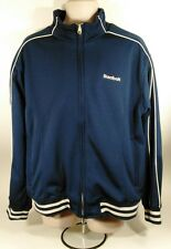 Vintage REEBOK Full Zipper Basketball/Running /Track Warm-Up Jacket Mens Large