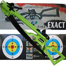 Toy Gun Kinderarmbrust Set Kunststoff grün 12Ibs ca. 5 kg Zuggewicht mit Zubehör