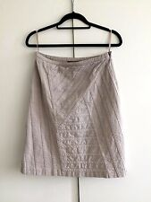 Reiss - Women's Stylish Casual Skirt in Cream/Size: UK 8/Waist: 26 inches/Used