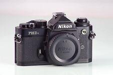 Nikon FM3 A FM3A black MINT AS NEW GARANTIA COLECCION FREE EXPRESS DELIVERY