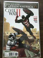 Sam Wilson Captain America #13 KEY 1st Sam as Cap vs US Agent! Disney+ Key Cover
