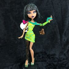 Monster High Dawn Of The Dance  CLEO DE NILE Doll Outfit Shoes Purse Stand Lot