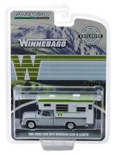 Greenlight 30022 1966 Dodge D-100 With Winnebago Slide-In Camper